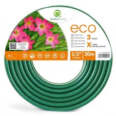 "Reinforced 3 Layer Garden Hose ECO 1/2"" 30m"